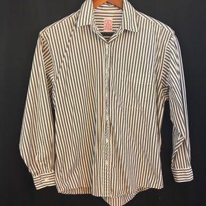 BROOKS BROTHERS Dress Shirt Women 6 Striped